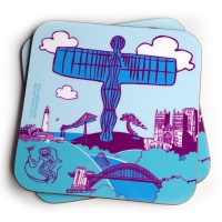North East Icons Coaster