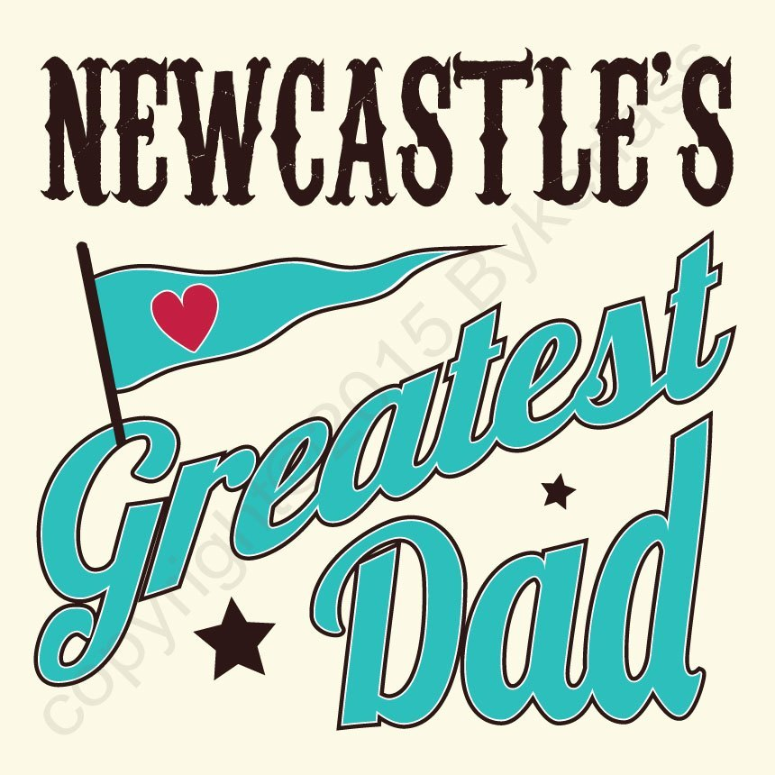 Baby Boy Gifts Newcastle : Newcastle s greatest dad card large north east gifts