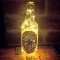 Newcastle Brown Ale Lamp by Totes Adore