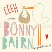 Bonny Bairn Geordie Card