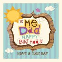 To Me Dad Happy Birthday Geordie Card