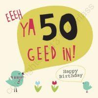 Geordie Cards Eeeh Ya 40