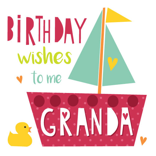 Birthday Wishes To Me Granda