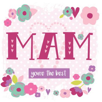 Mam Card North East Gifts Mothers Day Birthday