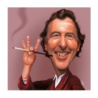 Paul Hutchinson Caricature Eric Idle