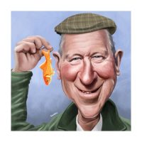 Paul Hutchinson Caricature Jack Charlton