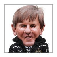 Paul Hutchinson Caricature Peter Beardsley