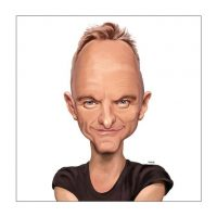 Paul Hutchinson Caricature Sting