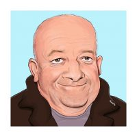 Paul Hutchinson Caricature Tim Healy