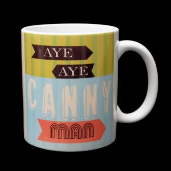Geordie Mug - Aye Aye Canny Man