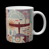 Geordie Mug - Geordie City