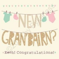 Geordie Card - New Grandchild