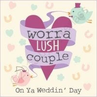 Lush Couple Geordie Card