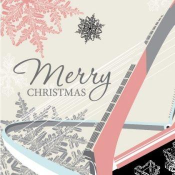 Millennium Bridge Christmas Card