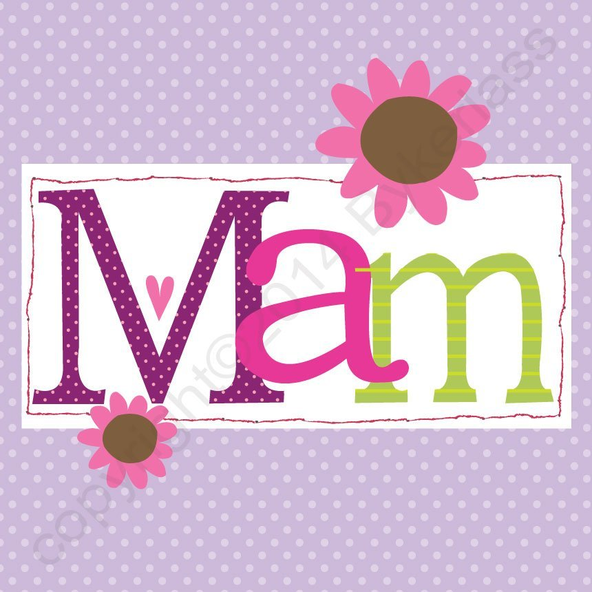 mam card lavender flowers north east gifts