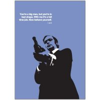 PopArt Card GET CARTER