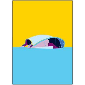 The Sage Gateshead Pop Art Card