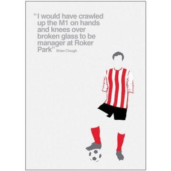 Sunderland Pop Art Card