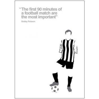 NUFC Pop Art Card