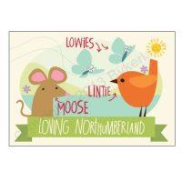 Northumbrian Postcard