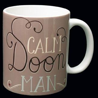 Calm Doon Man Mug