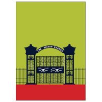 Alnwick Poison Garden Pop Art Card