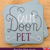 Calm Doon Pet Coaster