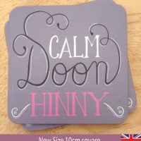 Calm Doon Hinny Coaster