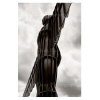 Angel Of The North Print by Daniel Dent