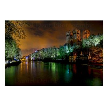 Durham Lumiere Photo Print by Daniel Dent