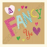 Geordie Valentine's Day Card - A Fancy Ye