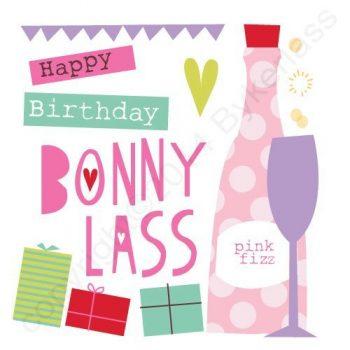 Mackem Card - Happy Birthday Bonny Lass