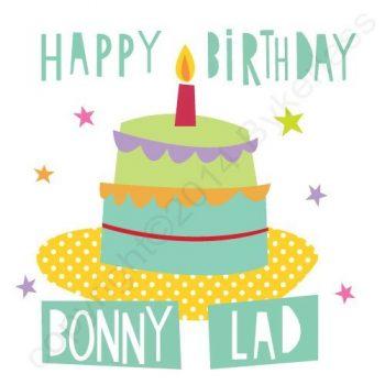 Mackem Card - Happy Birthday Bonny Lad
