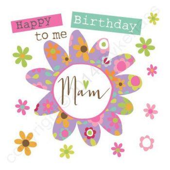 Mackem Card - Happy Birthday To Me Mam