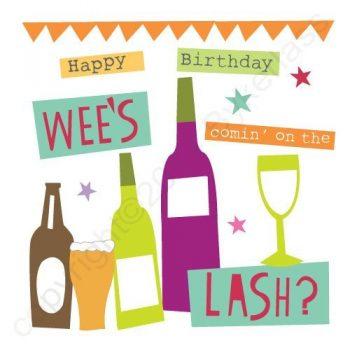 Mackem Card - Happy Birthday – Wee's Comin' On The Lash?