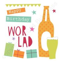 Mackem Card - Happy Birthday Wor Lad