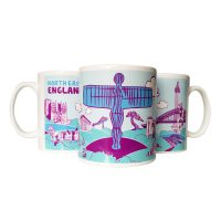 North East Gits Icons Mug
