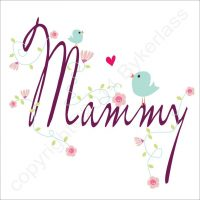 Mammy Greetings Card