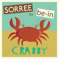 Geordie Card - Sorry For Being Crabby (Sorry Card)