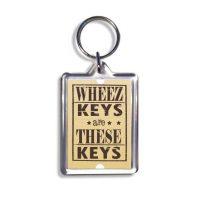 Geordie Keyring - Wheez Keys Are These Keys