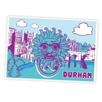 Durham Fridge Magnet