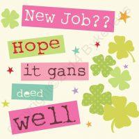 Geordie Card Leaving New Job Good Luck