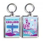 North East Icons Keyring