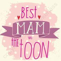 Best Mam in The Toon Geordie Card
