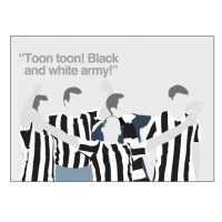 Toon Toon NUFC Card