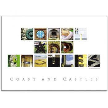 North East Coast and Castles Card