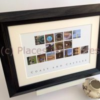 Northumberland Coast and Castles Print
