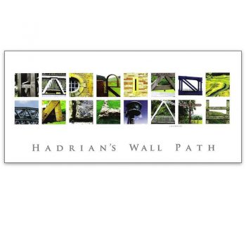 Hadrian's Wall Path Photo Card