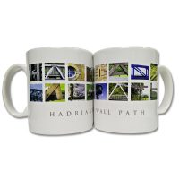 Places In Pictures Hadrians Wall Mug