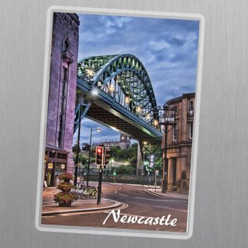 Tyne Bridge Fridge Magnet